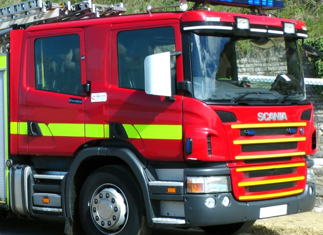 Fire engine (stock picture)